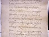 The Articles of Conferderation, ratified in 1781. This was the format for the United States government until the Constitution.