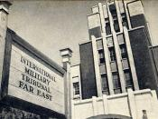 ja: 極東国際軍事裁判市ヶ谷法廷 (旧陸軍省・参謀本部) en: International Military Tribunal for the Far East Ichigaya Court (formally Imperial Japanese Army HQ building), Tokyo