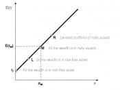 Capital market line plot