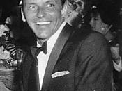 English: Frank Sinatra at Girl's Town Ball in Florida, March 12, 1960