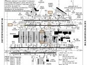 English: FAA airport diagram for Hartsfield-Jackson Atlanta International Airport (ATL) in Atlanta, Georgia, United States. Deutsch: Flughafendiagramm des Flughafens Atlanta Français : Plan de l'aéroport de la FAA pour Hartsfield-Jackson Atlanta Internati