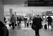 Interior of Hartsfield-Jackson Atlanta International Airport