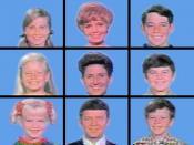 The Brady Bunch opening grid, season one
