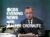 A title card still from the April 4, 1968 edition of the CBS Evening News with Walter Cronkite, the evening of the assassination of Martin Luther King, Jr..