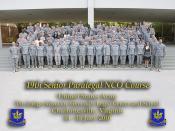 19th Senior Paralegal NCO Course