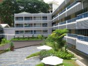 The older block of classrooms in the school, formerly part of the now defunct Buona Vista Secondary School campus.