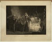 John Opie - Winter's Tale, Act II. Scene III unrestored