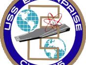 Coat of arms of USS Enterprise (CVN-65)