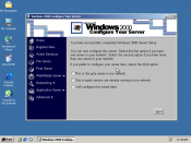 Screenshot of Windows 2000 Server