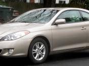 2004-2006 Toyota Solara photographed in College Park, Maryland, USA. Category:Toyota Camry Solara (XV30)