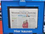 vending machine for WZ newspapers