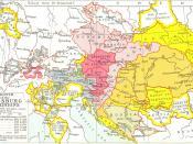 English: Growth of Habsburg territories.