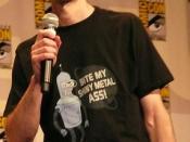 David X. Cohen at Comic Con 2007.
