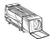Sony portable CRT video projector (vidimagic )