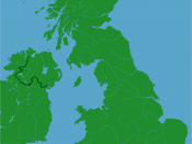 Lyme Bay shown within Great Britain