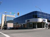 English: KPMG building in Kamloops, British Columbia, Canada. Polski: Budynek KPMG w Kamloops w Kolumbii Brytyjskiej (Kanada).