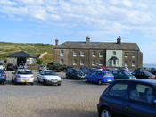 English: Car park at Birling Gap
