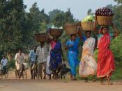 Local indian women