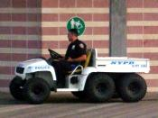English: NYPD beach buggy Deutsch: Strand-Buggy des NYPD
