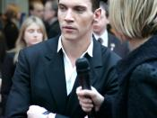 Jonathan Rhys Meyers at the Mission: Impossible 3 British premiere.