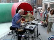 Musician In-the-art-bubble