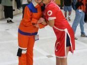 Cosplay - AWA14 - Naruto Uzumaki and Sakura Haruno