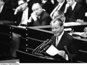 Willy Brandt (1913-1992), German Chancellor and Nobel Peace Prize laureate of 1971