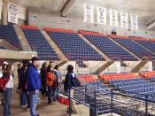 University of Connecticut, Gampel Pavilion. Taken by me (JlsElsewhere), 27 Apr 2005.