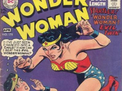 The cover of 1968's Wonder Woman #175, which explicitly references the