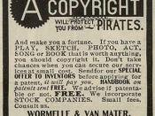 Newspaper advert: