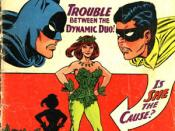 The first appearance of Poison Ivy, in Batman#181