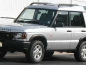 2003-2004 Land Rover Discovery photographed in USA.