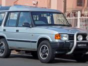 English: 1994–1997 Land Rover Discovery V8i, photographed in Cronulla, New South Wales, Australia.