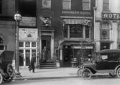 The Brooklyn Eagle's Washington bureau office, street view of building facade