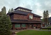 English: Banff Park Museum National Historic Site, Banff, Alberta, Canada