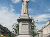 Father Mathew 1790-1856 (The Temperance Priest) in Dublin's O'Connell Street