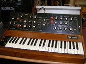 Early Minimoog by R.A.Moog (ca.1970)