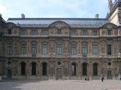 The Lescot Wing of the Palais du Louvre