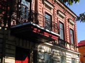 Photograph of the Birthhouse of Faina Ranevskaya in the city of Taganrog, Russia.