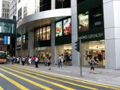 Marks & Spencer Store in Central Tower, Hong Kong