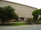 English: Texas Workforce Commission building Español: La sede de la Comisión de la Fuerza Laboral de Texas
