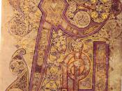 The Chi Rho monogram from the Book of Kells is the most lavish such monogram