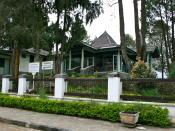 Suharto-Whitlam House at Dieng Plateau, Central Java, Indonesia