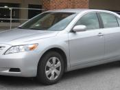 2007-2009 Toyota Camry photographed in College Park, Maryland, USA. Category:Toyota Camry (XV40) Category:Silver Toyota sedans