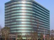 The new headquarters of the Toyota Motor Corporation, opened in February 2005 in Toyota City.