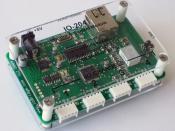 English: ioBridge IO-204 Module
