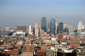 English: Picture taken from the Liberty Memorial in Kansas City, MO. High Resolution.