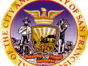 Seal of the City of San Francisco for fair use to illustrate the article about San Francisco, California.