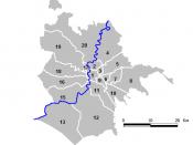 Locator maps of Rome