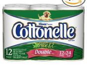 Cottonelle hygenic paper.